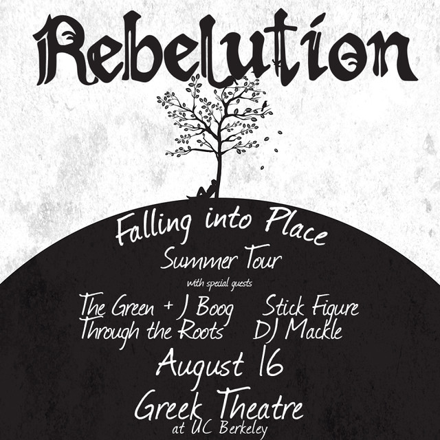 Falling into Place Summer Tour with Rebelution, The Green, J Boog and ...