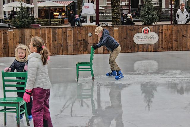 Ice Skating Amsterdam