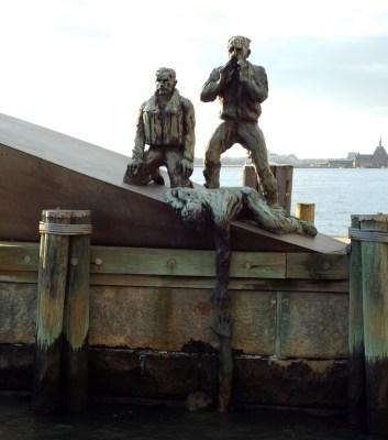 Doomed Merchant Mariners Memorial, New York - the tea break project solo travel blog