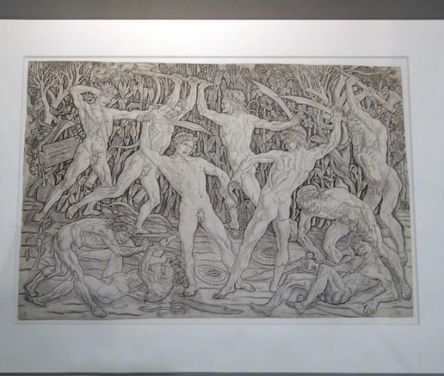 Battle Of Ten Nudes In Display Case By Profzucker