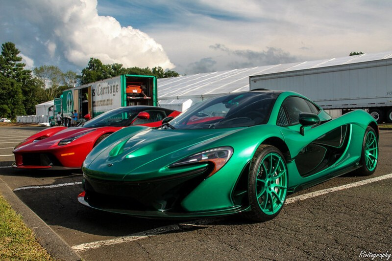 Michael Fux's 2014 McLaren P1 - Happy St. Patrick's Day!
