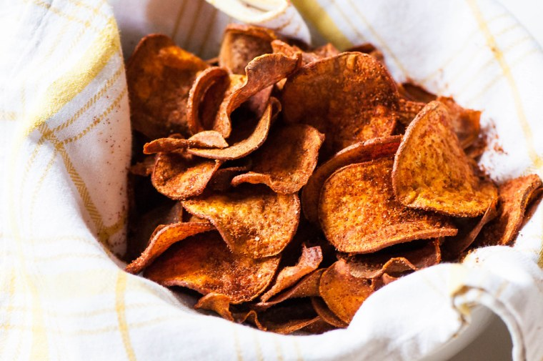 BBQ Sweet Potato Chips 6