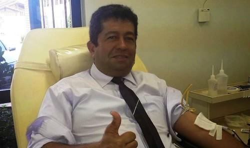 Líder do governo na Câmara nega nepotismo nas contratações feitas por Nélio, Henderson PINTO