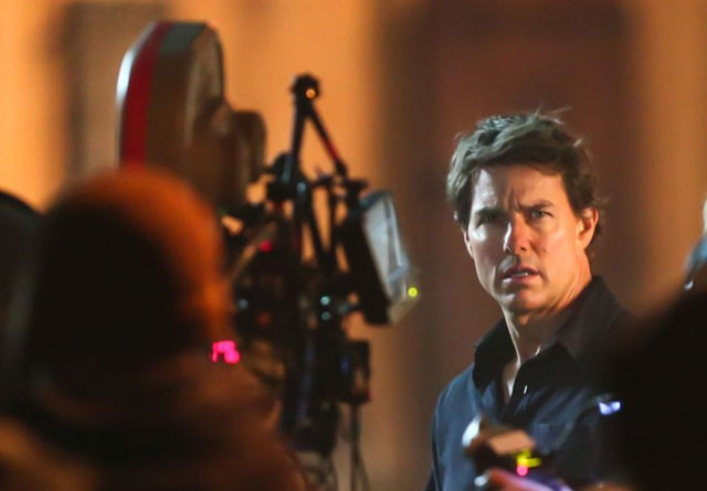 Tom Cruise film set