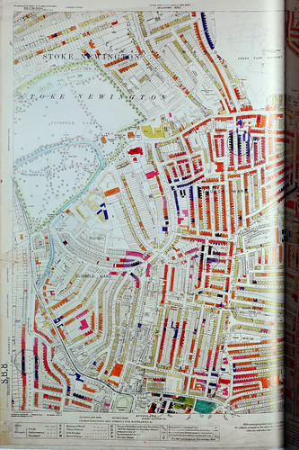London County Council Bomb Damage Map 19391945  Hackney
