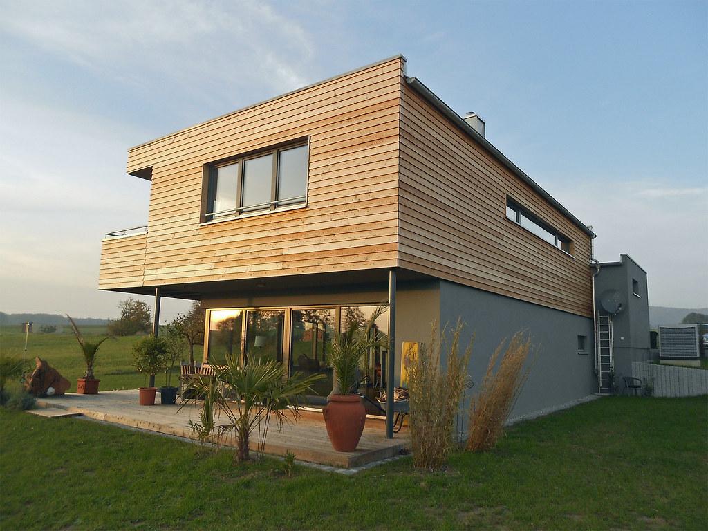 Fertighaus Kubus. Top Auenansicht Holz With Fertighaus Kubus