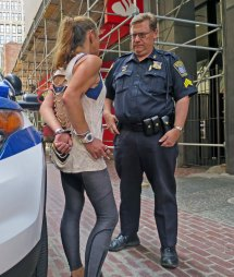Cops Arrested Girl Handcuffed Flickr