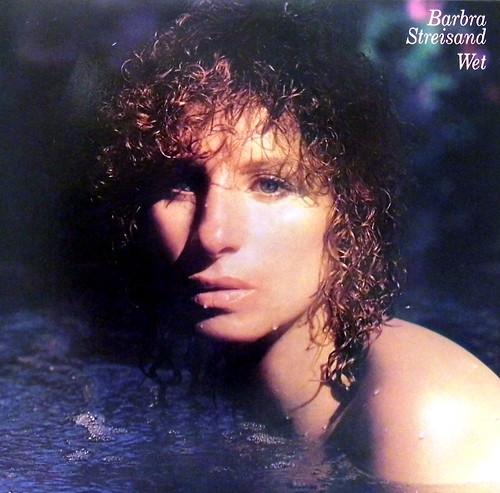 Vintage Vinyl LP Record Album  Barbara Streisand Wet Col