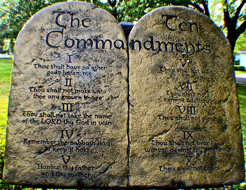 The Ten Commandments Translated By A Teenager