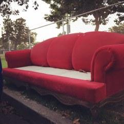 Los Angeles Sofas Blue Striped Sofa Abandoned Of Byesofala Writingruth Flickr By