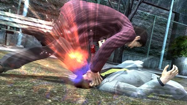 Yakuza 4 cận chiến