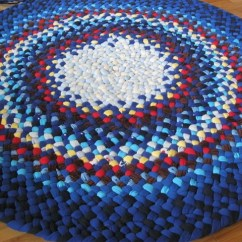 Custom Kitchen Rugs High Table Sets Handmade Hand Braided Rug From Recycled Fab Flickr Fabricsc By Mrs Ginther