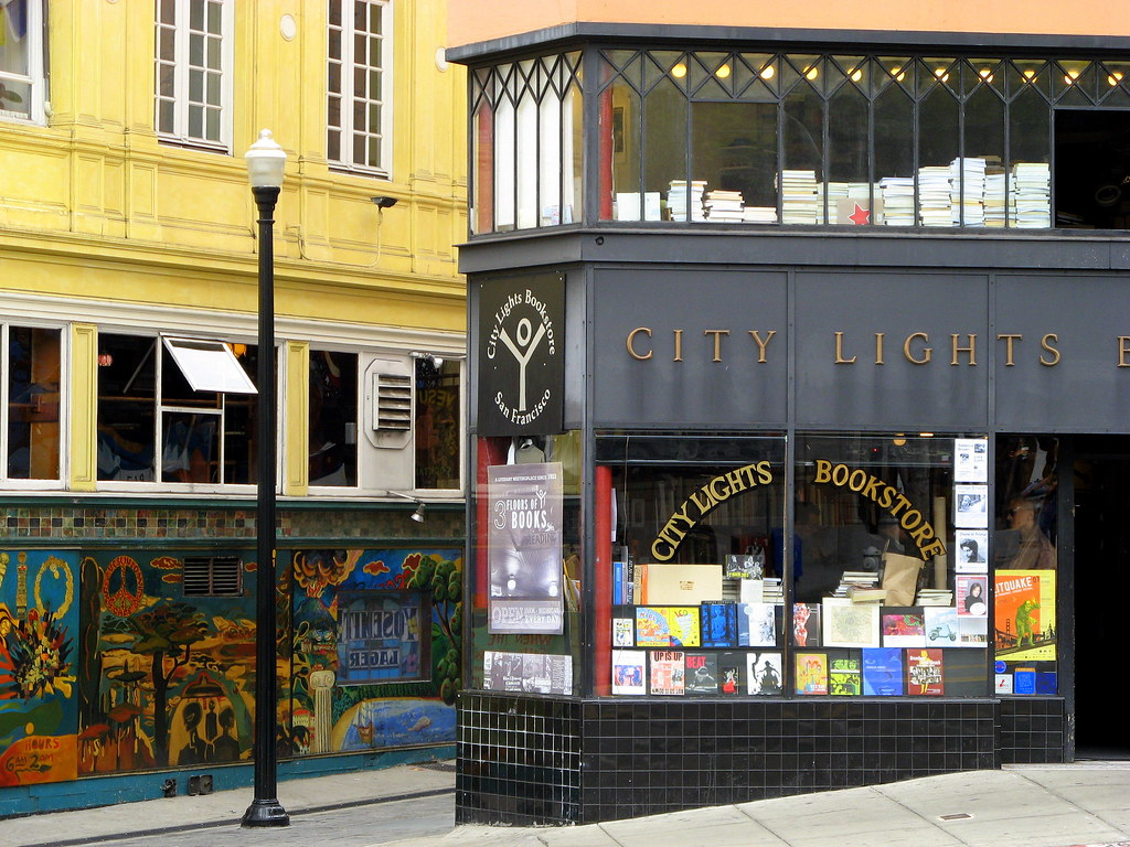 the beat goes on  City Lights Bookstore San Francisco CA  debaird  Flickr