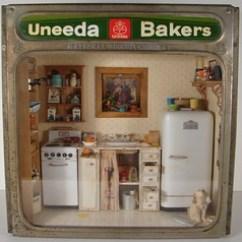 Kitchen Miniature Stock Cabinets Scene 1 12 Scale Ann By Miniaturemadness