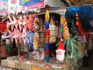 India  Kerala  071  Cochin  Xmas decorations for sale