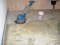 Scrubbing Carpet Mastic | Impressive Restorations Concrete ...