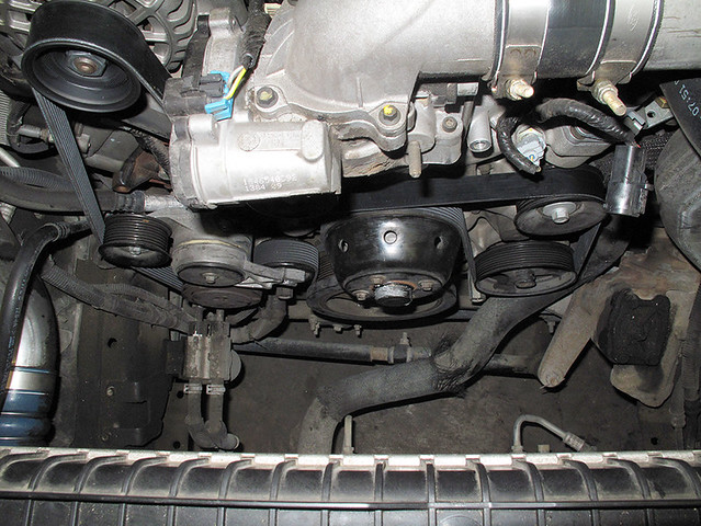 3 4 Liter Engine Belt Diagram Replacing A Serpentine Belt On A Ford F 250 Pickup With A