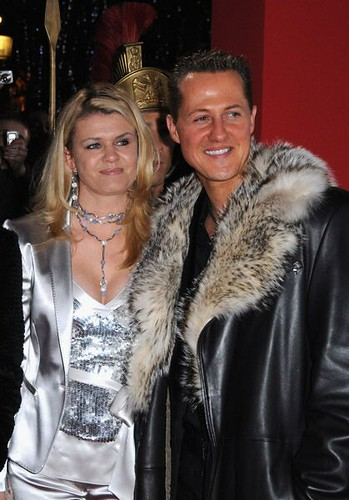'i miss michael every day': Driver Michael Schumacher and his Wife Corrina Schumacher