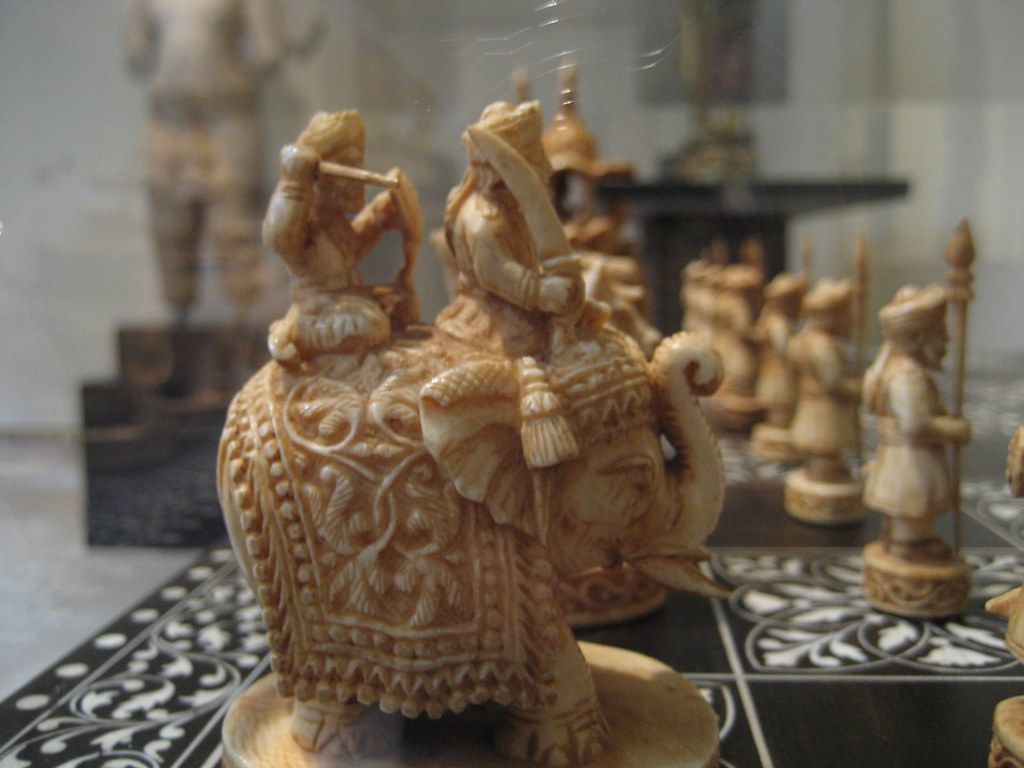 Indian Chess Set  Chess is an Indian invention  good