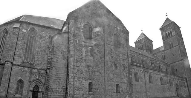 Quedlinburg Stiftskirche Aufgenommen auf einem