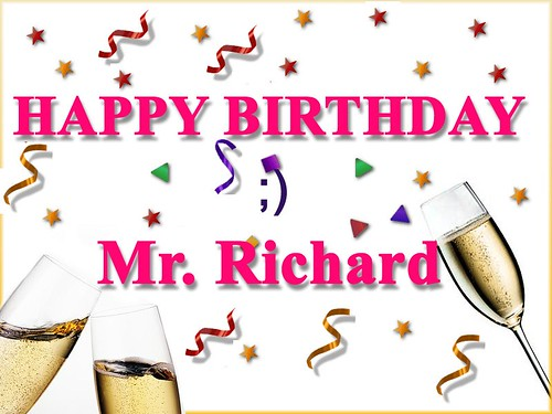 Fiesta De Cumpleaños De Richard Birthday Party Of Mr Mes