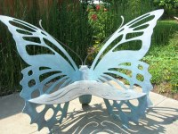 Butterfly Bench | Jennifer Whiteford | Flickr