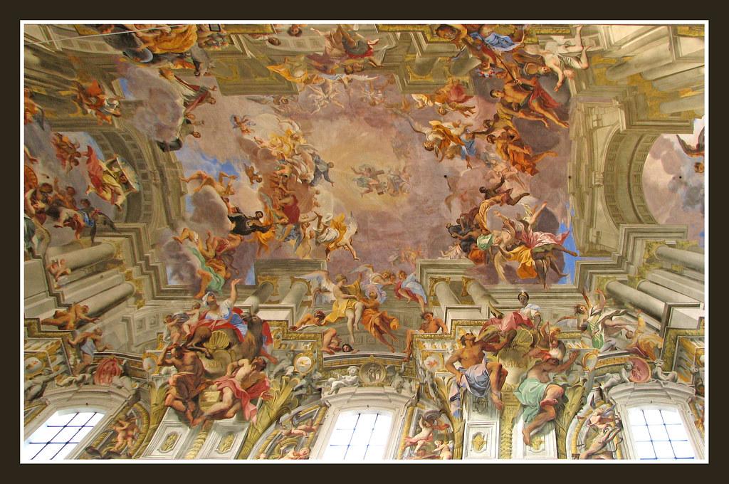 Apotheosis Of St Ignatius Sant' Ignazio Di Loyola A