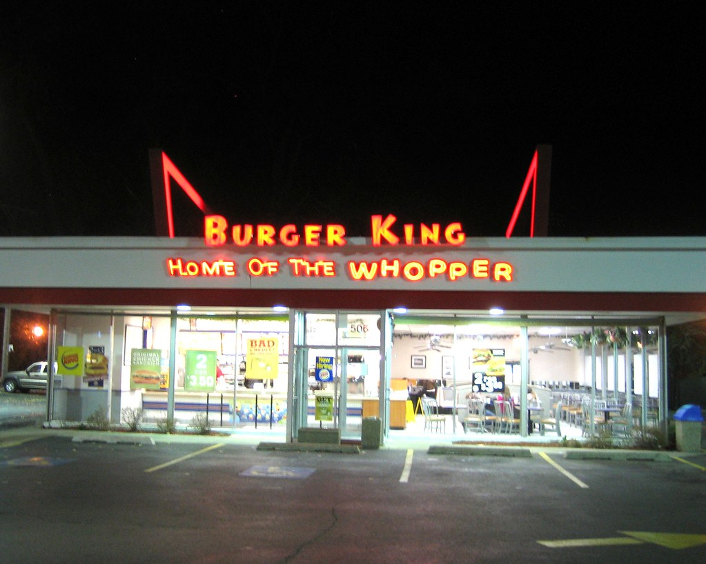 Home Of The Whopper Great Retro Burger King That S Still
