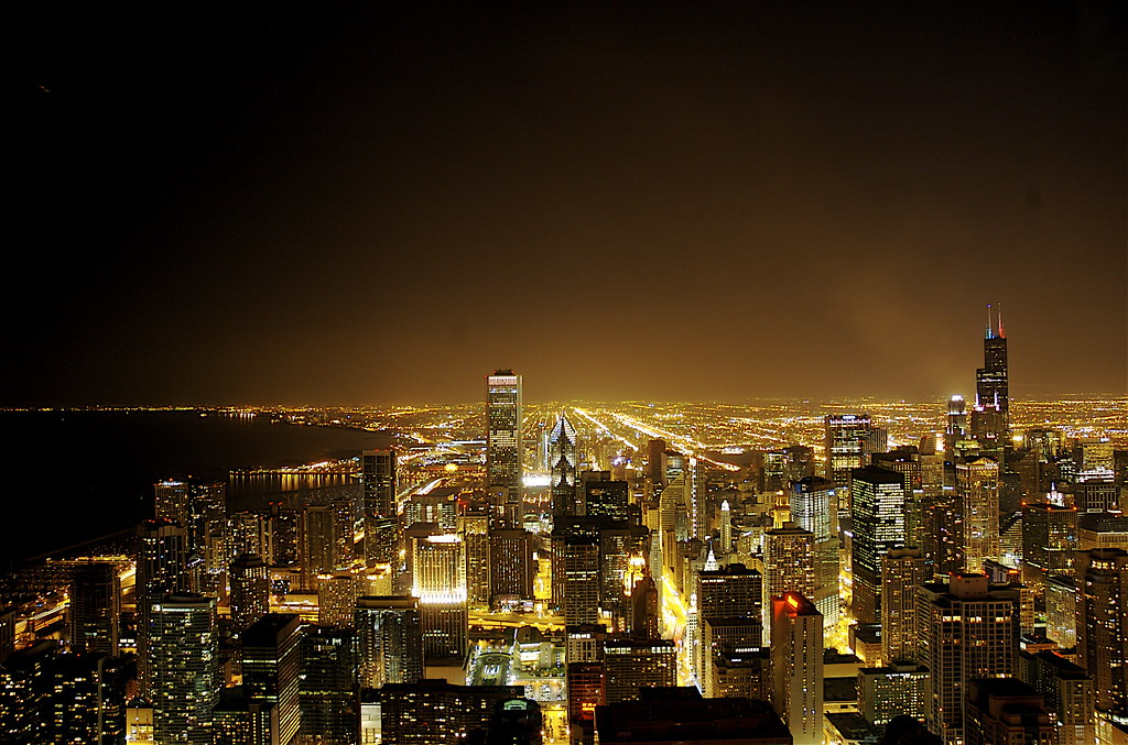Man City 3d Wallpaper Chicago By Night The New York City Skyline Is Awesome I