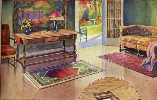 1930s Interior Design  1930 Living Room Design See the