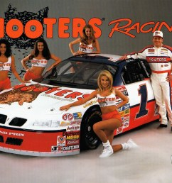 rick mast hooters 1996 grand prix gimme card  [ 1024 x 804 Pixel ]