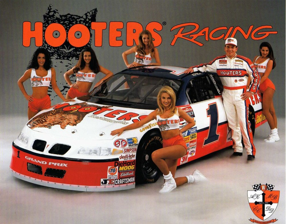 medium resolution of  rick mast hooters 1996 grand prix gimme card