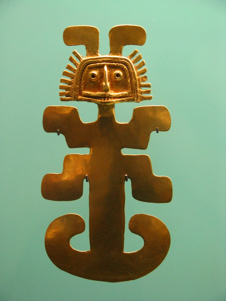 the colombian symbol  by chris this symbol the jaguar