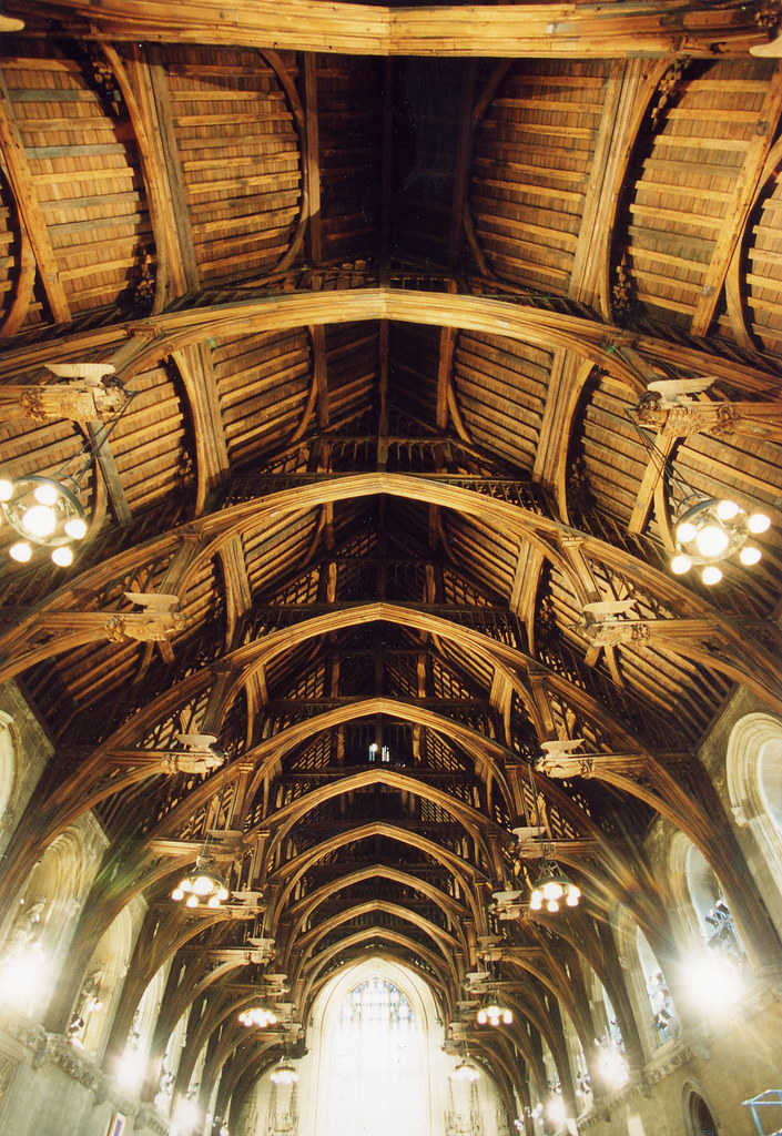 Westminster Hall  ceiling  Westminster Hall is the