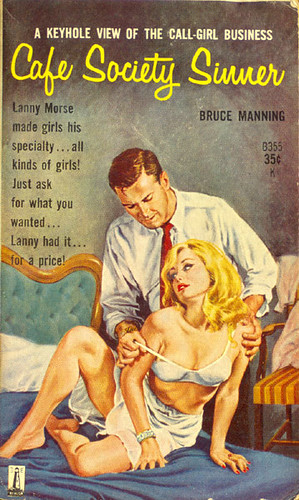 Cafe Society Sinner Beacon B355 1961 AUTHOR Bruce Manni