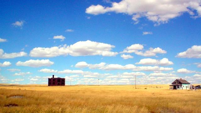 Montana Landscape Vananda Mt Route 12 In Eastern