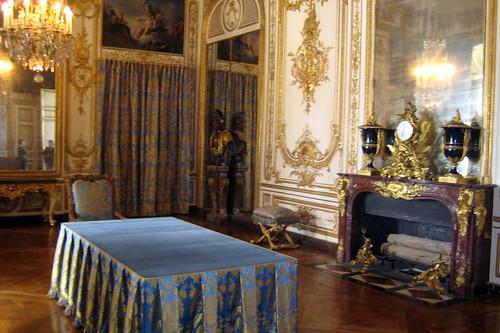 Versailles  Chteau de Versailles  Le cabinet du Conseil