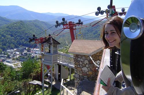 Smoky Mountains Chair Lift Gatlinburg TN Michelle