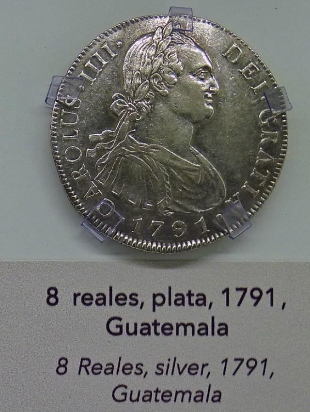 Monedas Siglo XVIII Museo Numismática Banco Central San José de Costa Rica 13