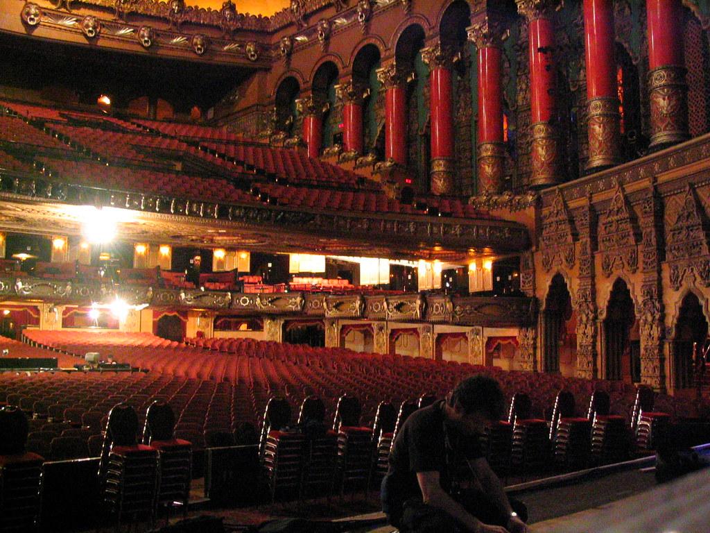 Detroits Fox Theatre interior during Savion Glover prese  Flickr