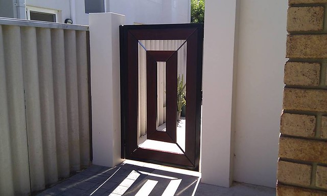 stunning modern gate design ideas 7