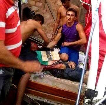 Ultraleve cai sobre casa em Santarém, piloto morre e fere moradores, Ultraleve queda em Santarém