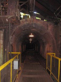 Sloss Furnaces 27 Underground Tunnel, Birmingham, Alabama ...