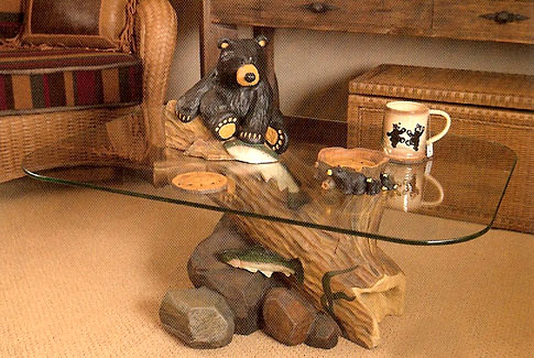 Bradley Bear Table  great conversation piece for you home