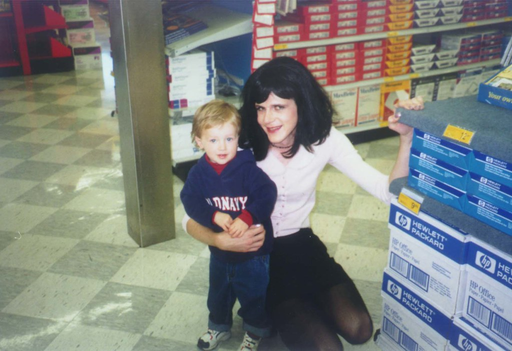 Halloween 1999  No not a random child I posed with for a
