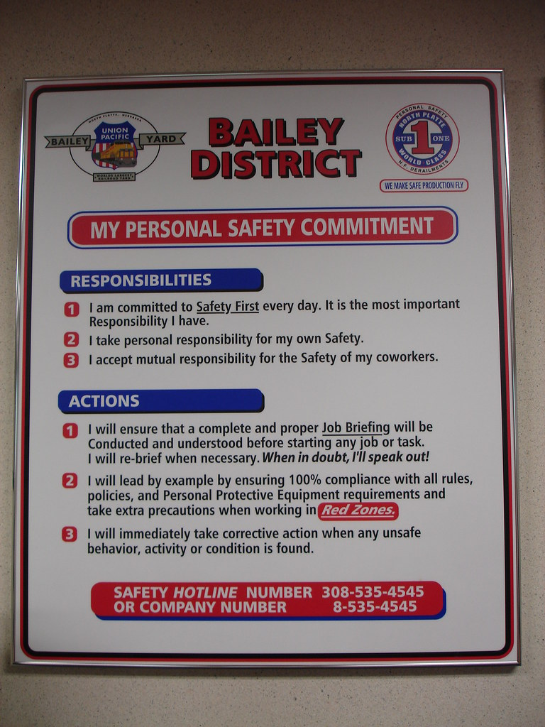 My Personal Safety Commitment  North Platte Community