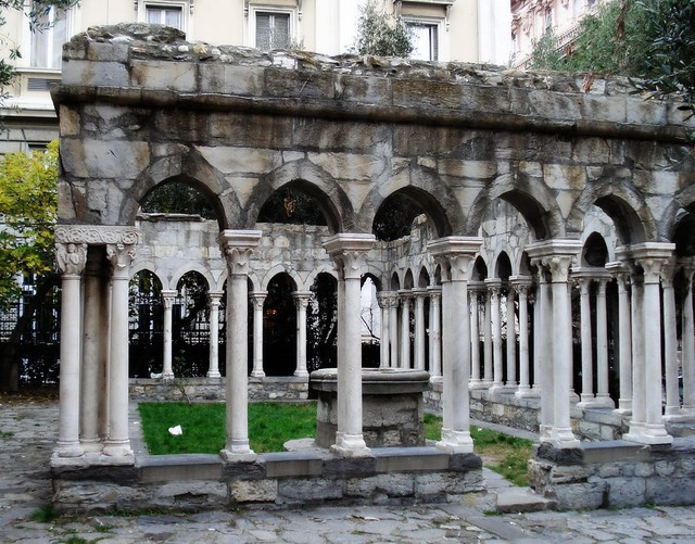Cortile della casa di Cristoforo Colombo  Genova  Andrea Tornabene  Flickr