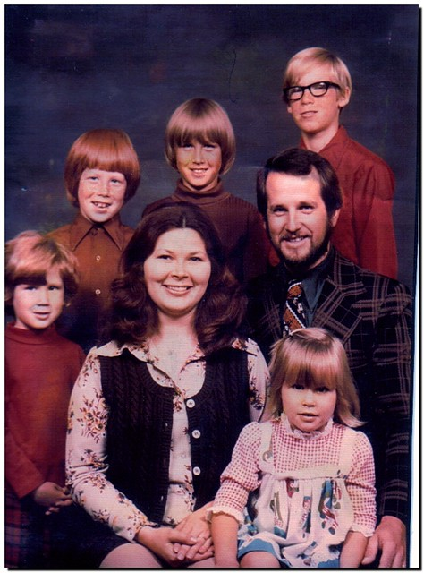 1970s Family Picture  While visiting my Dad and daughter