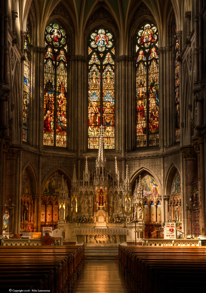 St Augustine Amp St John Church Vertical Panorama Of The