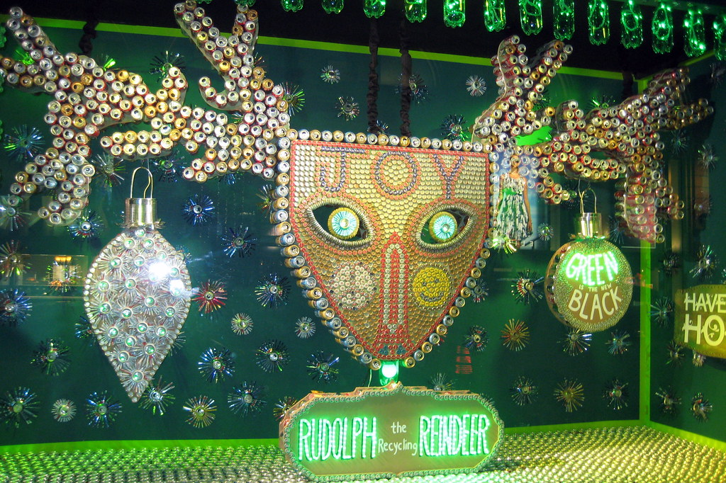 NYC  Barneys 2007 Holiday Window Display  Rudolph the Re